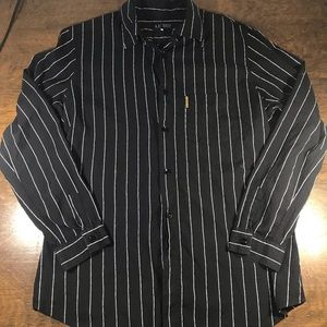 Armani Jeans Long Sleeve Button Up Shirt